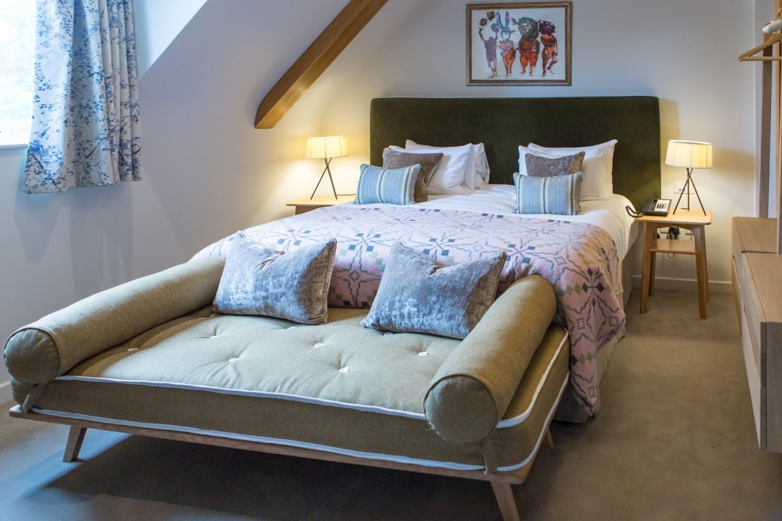 Fallow – a double room at New Park Manor luxury family hotel in the New Forest