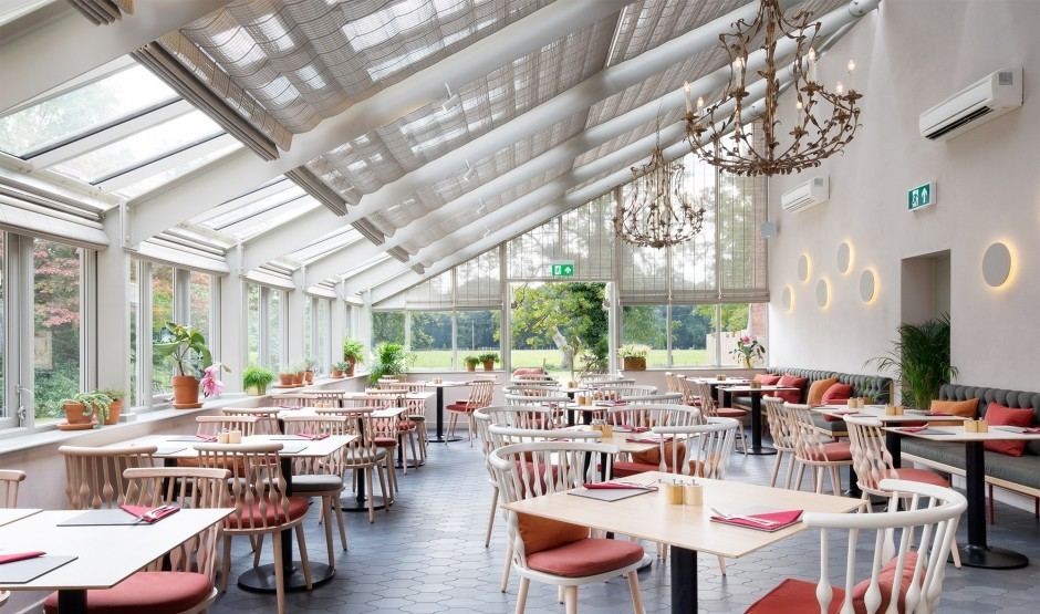 The Vinery restaurant at New Park Manor hotel