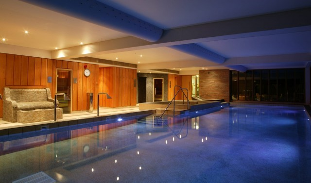 Indoor family-friendly swimming pool in the New Forest