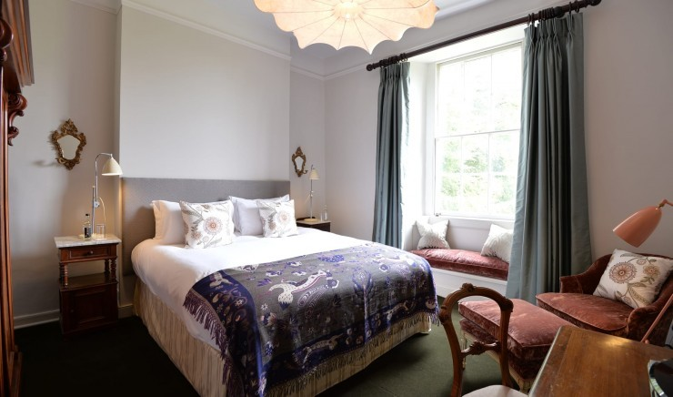 Family hotel suite in the New Forest