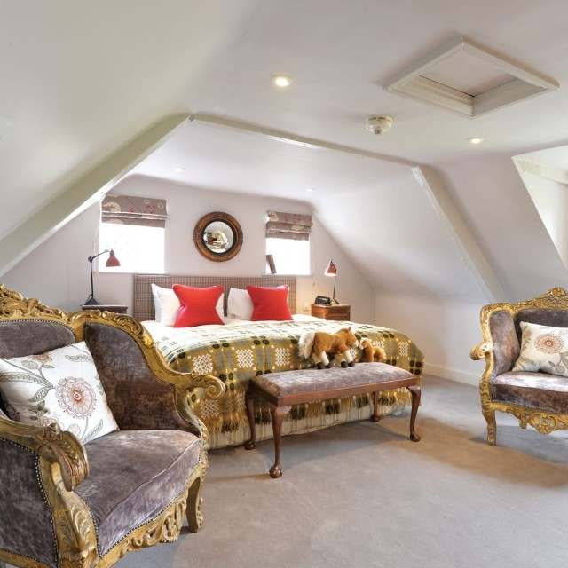 Luxury family suite at child-friendly hotel in the New Forest
