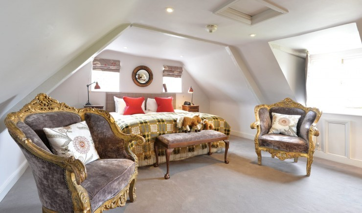 Family suite at New Park Manor in Hampshire