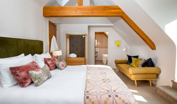 Sika double room with terrace at New Park Manor hotel